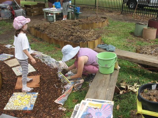 Establishing the garden