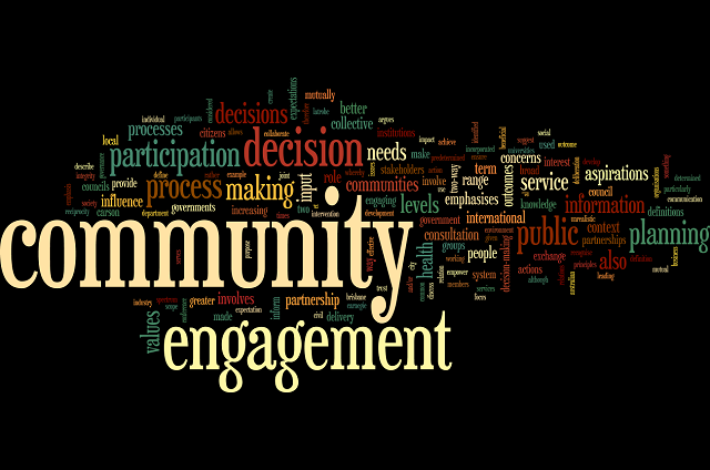 Definitions of community engagement | Sustaining Community