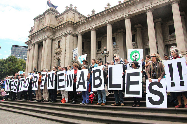 Yes to renewables rally