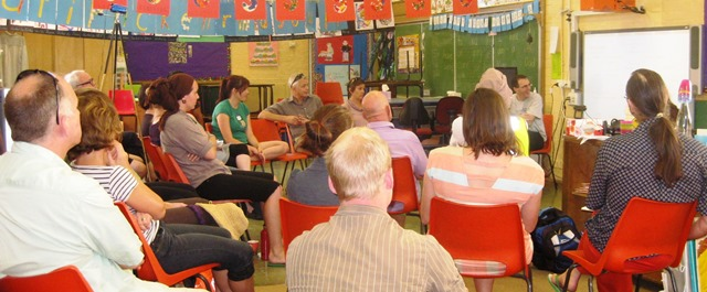 Asset-based community  development  workshop at the Fair Share Festival, Newcastle.
