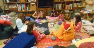 Concentrating on their Rainbow Looms