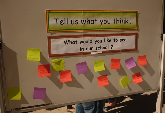 Asking parents what they think