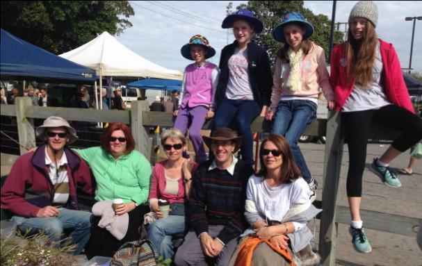 Famers market visit
