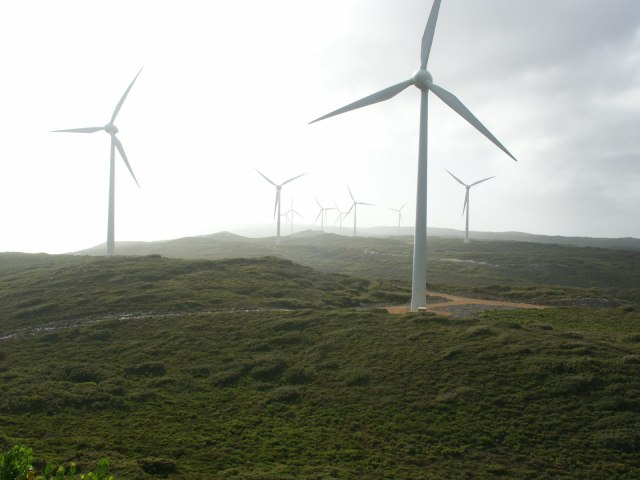 Wind farm (Photo by Nachoman-au)