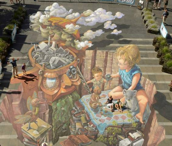 Urban Chalk Art Festival