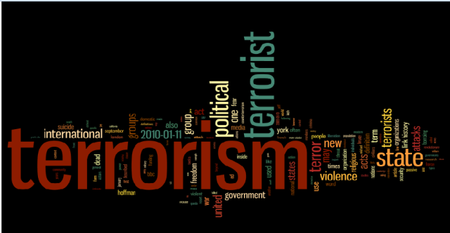 argumentative essay on terrorism Terrorists, this essay will focus on speech about terrorists in the united   argument is not that white terrorists are never mentally ill many are.