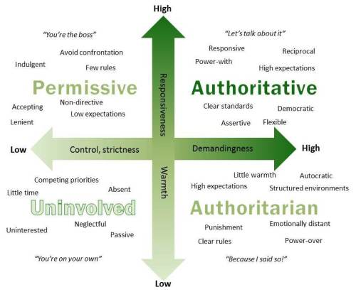 Image result for parenting styles