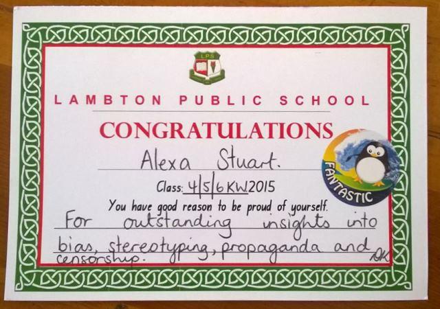 A class award