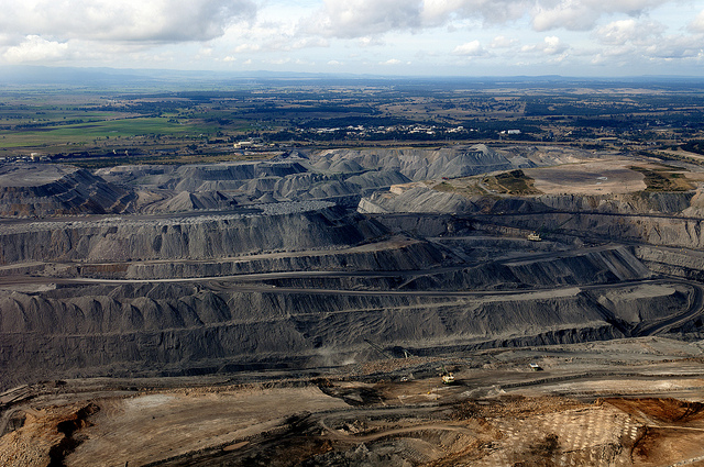 A coal mine in the Hunter Valley