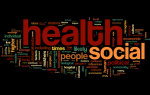 Wordle of social models of health