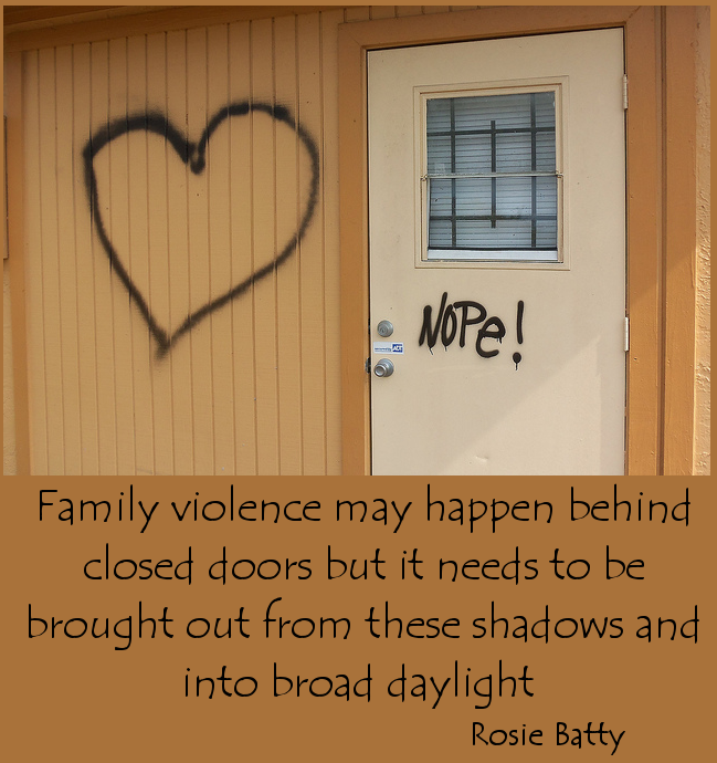 saturday quote rosie batty on family violence