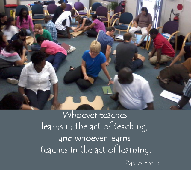 Whoever teaches