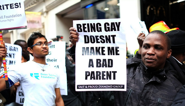 Being gay doesn't make make me a bad parent