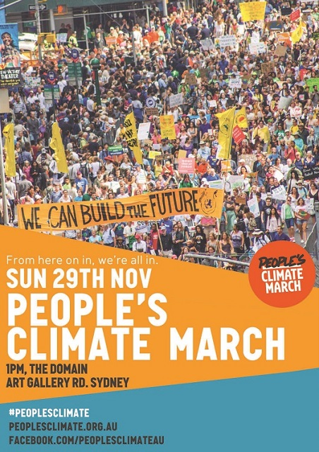 People's Climate March Sydney