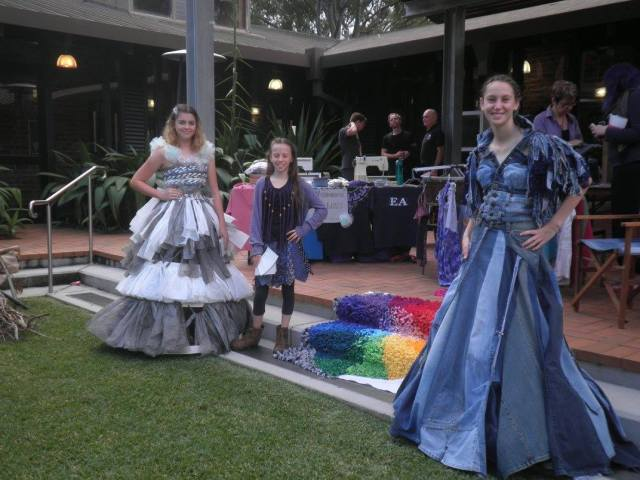 Upcycling event at the University of Newcastle