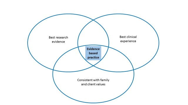 Figure 1: Evidence-based practice (Source: Walsh, Rolls & Williams [2])