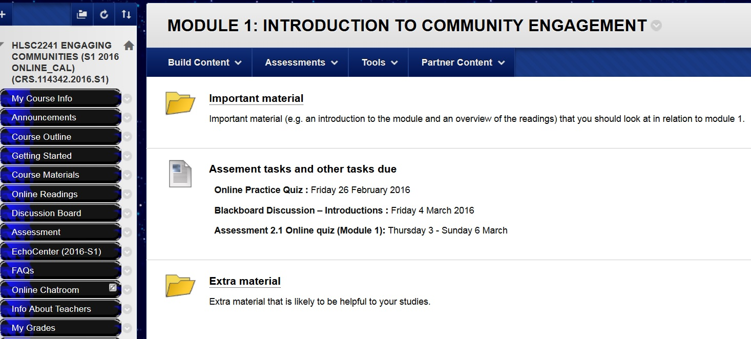 module 1 online discussion Dots: module 1 – printer-friendly version page 3 of 27 2 assignments and resources assignment 1 write a single discussion-board post to.