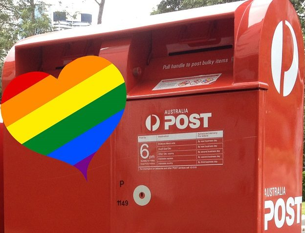 Same-sex marriage postal vote